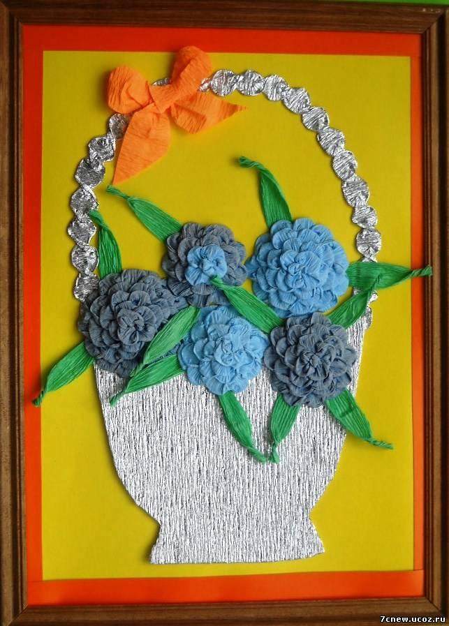 Подставка с цветами своими руками